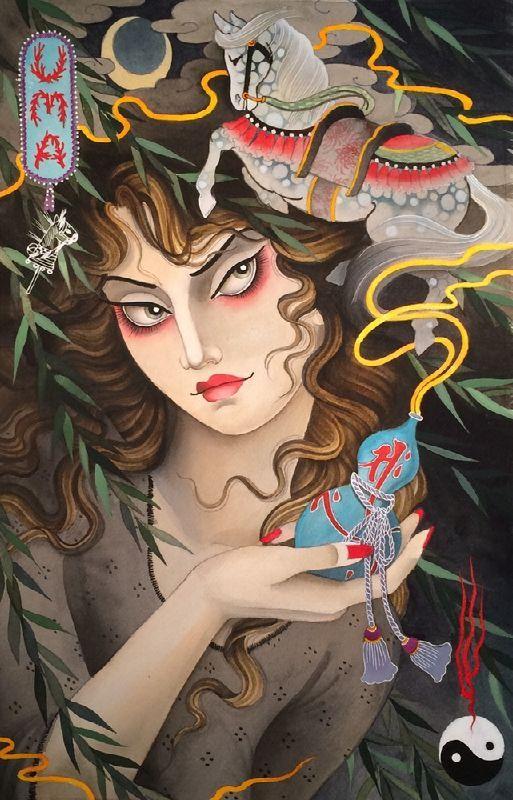 Claudia De Sabe, Illustrations.I'm loving these illustrations...
