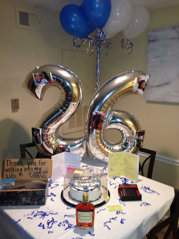 Birthday Decorations For My Boyfriend Image Inspiration of Cake