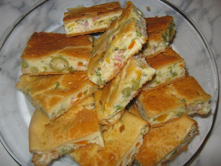 Aprenda a preparar a receita de Torta de legumes com frios