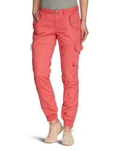 Da non perdere! Tom Tailor - Pantaloni cargo, donna, Rosso (Pink (5352  candy cane pink)), 48 IT (34W), in vendita su Kellie Shop. Scarpe, borse, accessori, intimo, gioielli e molto altro.. scopri migliaia di articoli firmati con prezzi da 15,00 a 299,00 euro! #kellieshop #borse #scarpe #saldi #abbigliamento #donna #regali
