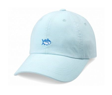 "Step out of the ordinary and into this popular Southern Tide Womens Skipjack Hat in Haint Blue! - 100% Cotton Twill - Full color Skipjack embroidery on front - Blue ""SOUTHERN TIDE"" embroidery and meta"