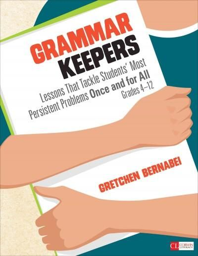 Students and teachers need accessible ways to talk about and use grammar. In Gretchen's trademark style, she gets these ever-important conversations started and keeps them going. This book is a keeper