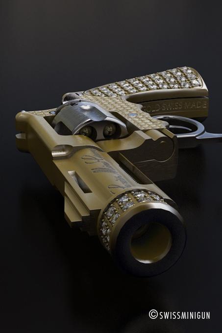 The worlds smallest pistol