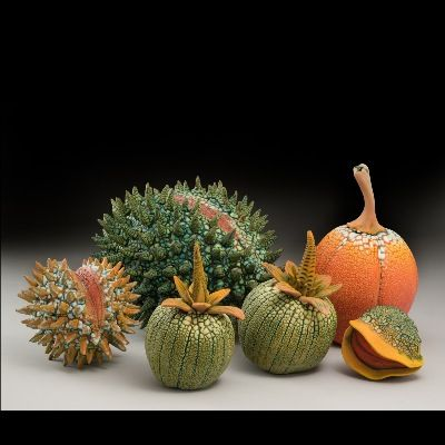 William Kidd Ceramics inspired by natural forms