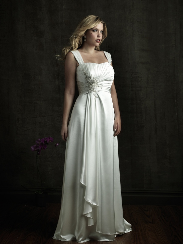 This is the dress! Plus Size Wedding Dress Allure W272: DimitraDesigns.com