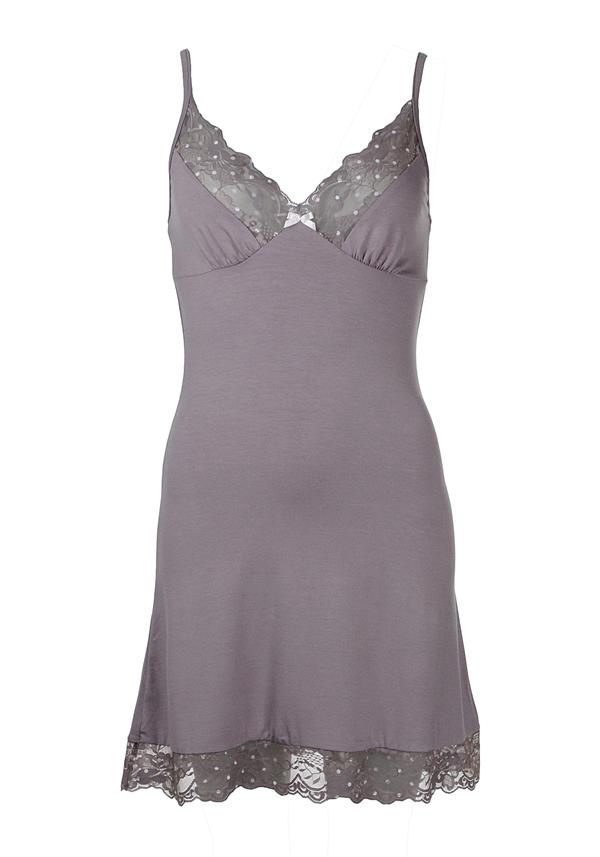 Vanilla Night & Day Chemise, Mink