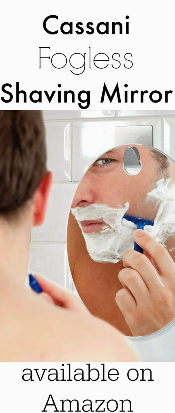 Shave In The Shower With Cassani Fogless Shaving Mirror Walkinshowers