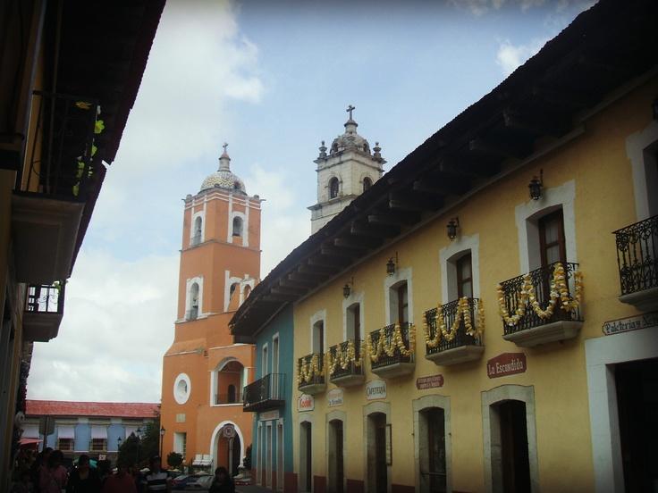 Pueblo Mágico en México.