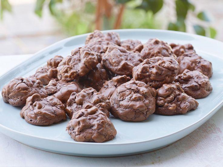 Chocolate Peanut Butter Globs recipe from Ina Garten via Food Network