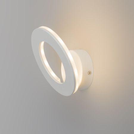 Aplique HALO LED blanco  #decoracion #interiorismo #iluminacion