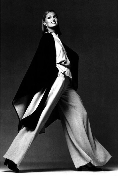 Lauren Hutton, photo by Francesco Scavullo, 1975