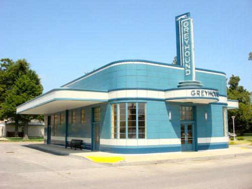 Greyhound Station, Blytheville, Arkansas