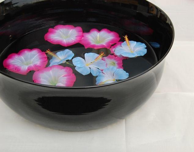 【楽天市場】【送料無料】陶器のフットバスボウル アジアンフットスパ アジアンテイスト バリ◆kevala ceramics(クバラセラミック):Island Style/アイランドスタイル