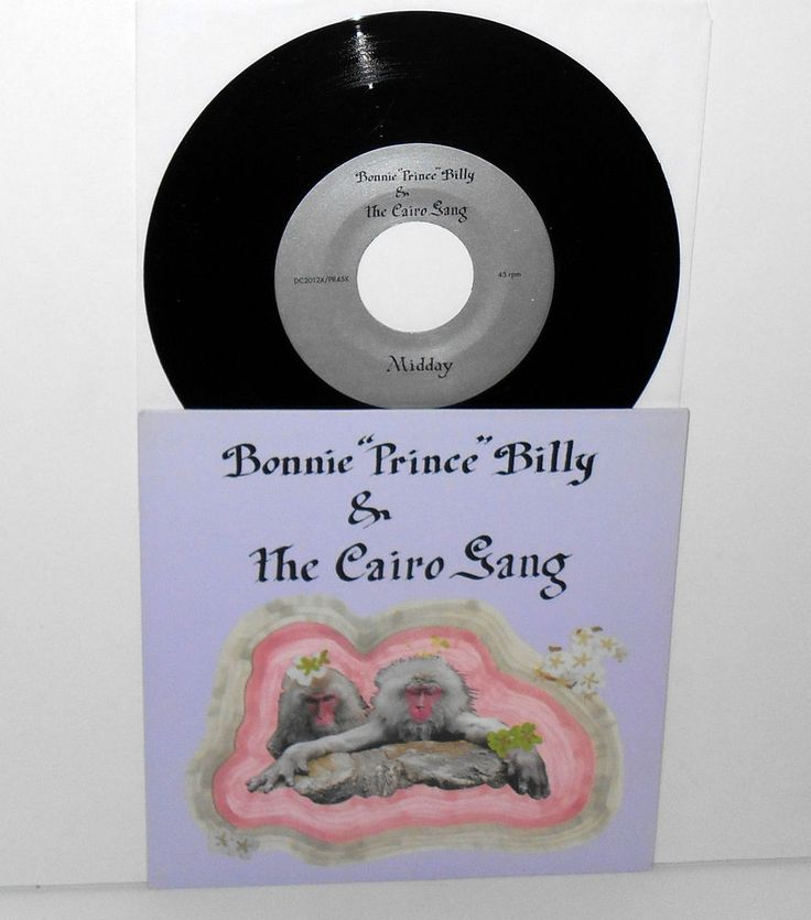 """BONNIE PRINCE BILLY & CAIRO GANG midday you win 7"""" Record will oldham Drag City #AlternativeIndieSingerSongwriter"""