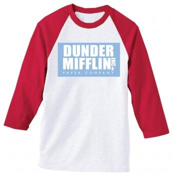 nbc.com - The Office Dunder Mifflin Softball Shirt ($26.00)
