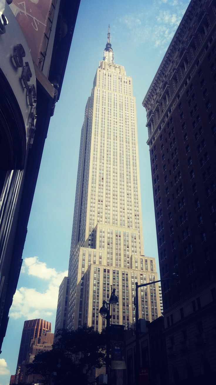 The Empire State Building is a 102-story skyscraper located on Fifth Avenue between West 33rd and 34th Streets in Midtown, Manhattan, New York City
