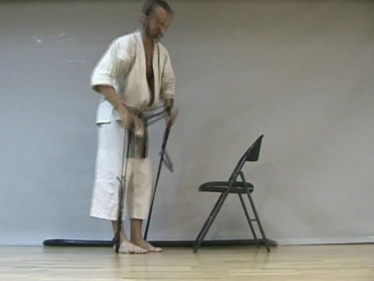 Karate Training - KIHON N°6: mae geri - Nambucca Heads (NSW) - Mid North...