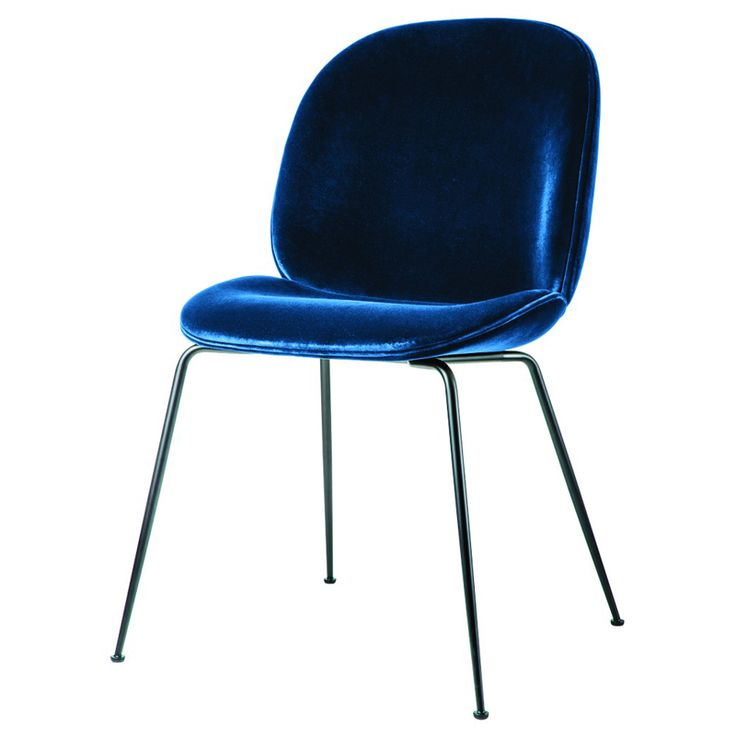 gubi beetle chair blue velvet black leg texture i love. Black Bedroom Furniture Sets. Home Design Ideas