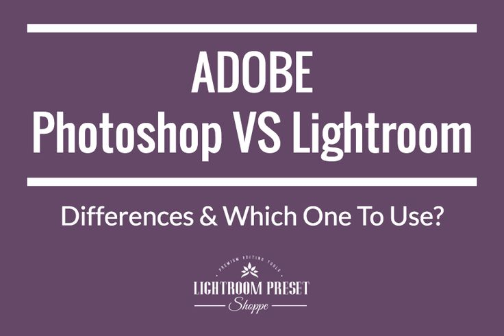 In this blog post we will try & understanding - The Difference Between Adobe Photoshop And Lightroom. Post-Production and Editing has become an intrinsic and integral part of a Professional Photographer's workflow.