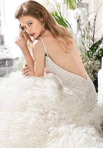 Demetrios C204 Mermaid Wedding Dress