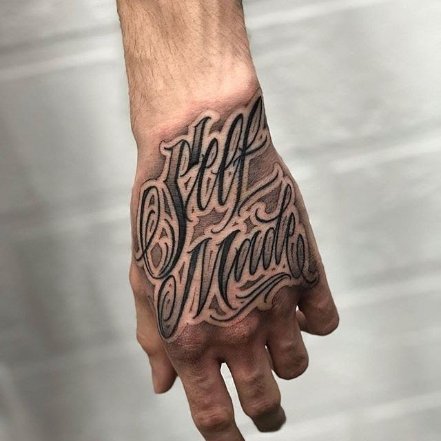 Lettering Tattoo C L On Instagram Self Made Done By Potstattoo Russia Letras Letters L Hand Tattoos For Guys Hand Tattoos Neck Tattoo For Guys