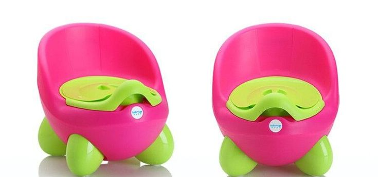 Fun Colorful and Comfortable Potty Training Chair Pink, Blue or Green