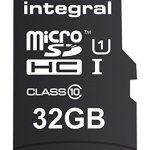 Integral Carte Micro SD 32 Go: Idéal pour Raspberry Pi 3, smartphones et tablettes tels que Samsung Galaxy S5/S7, Samsung Galaxy Tab,…
