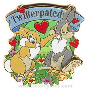 "Thumper collector's trading pin...""Twitterpated"" is one of my favorite words ever (I use it all the time)!"