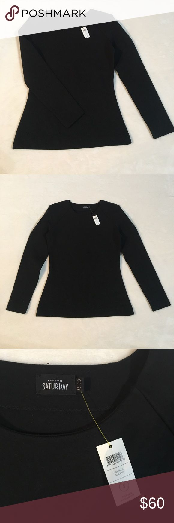 Kate Spade Saturday Fold over shoulder top Kate Spade Saturday Fold over shoulder top, brand new with tags! kate spade Tops Blouses