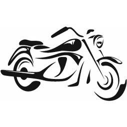 Motorcykel Väggdekor