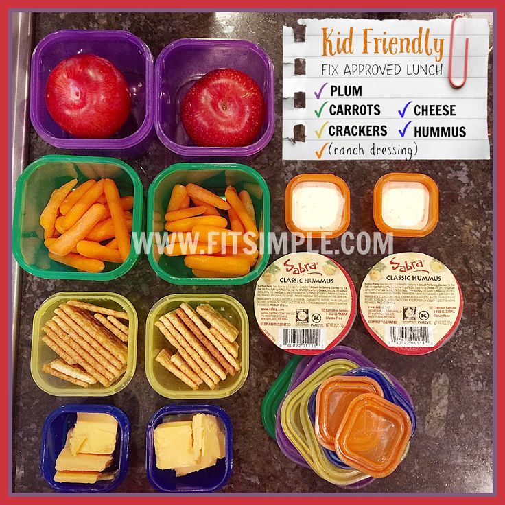 21 Day Fix for Kids - Kid Friendly Meal INSIDE
