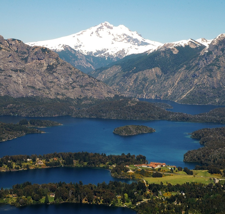 Bariloche (Argentina). 'A gorgeous lakeside setting, adjacent to one of the country's more spectacular and accessible national parks, makes Bariloche a winning destination year-round. During winter you can strap on the skis and take in the magnificent panoramas from on top of Cerro Catedral. Once the snow melts, get your hiking boots out and hit the trails in the Parque Nacional Nahuel Huapi.' http://www.lonelyplanet.com/argentina/the-lake-district/bariloche