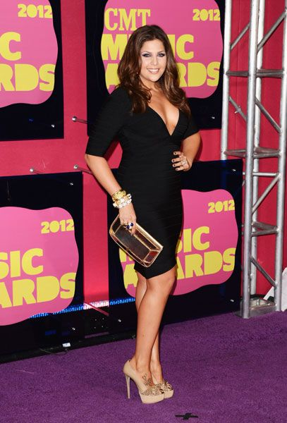 Lady Antebellum's Hillary Scott 2012 CMT Awards