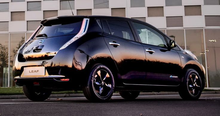 Nissan Leaf Black Edition Goes On Sale In UK, Priced From £26,890 #New_Cars #Nissan