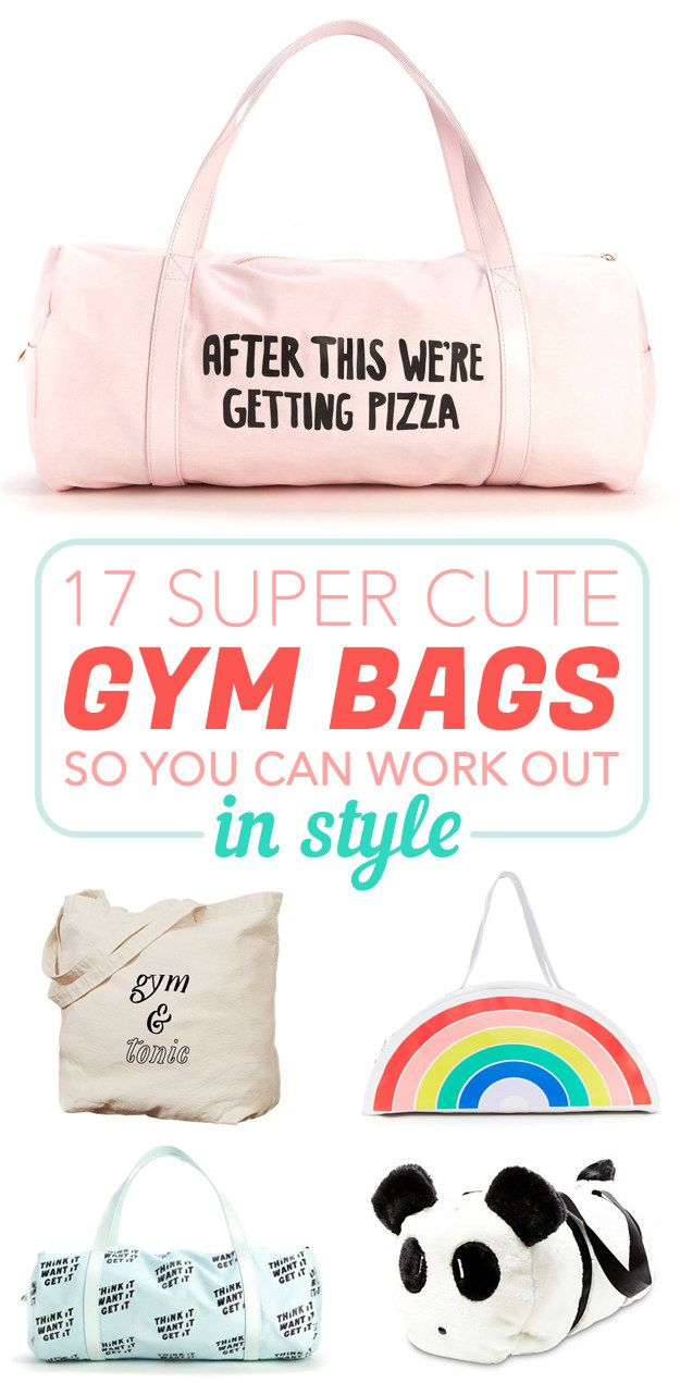 *goes to gym just to show off bag*