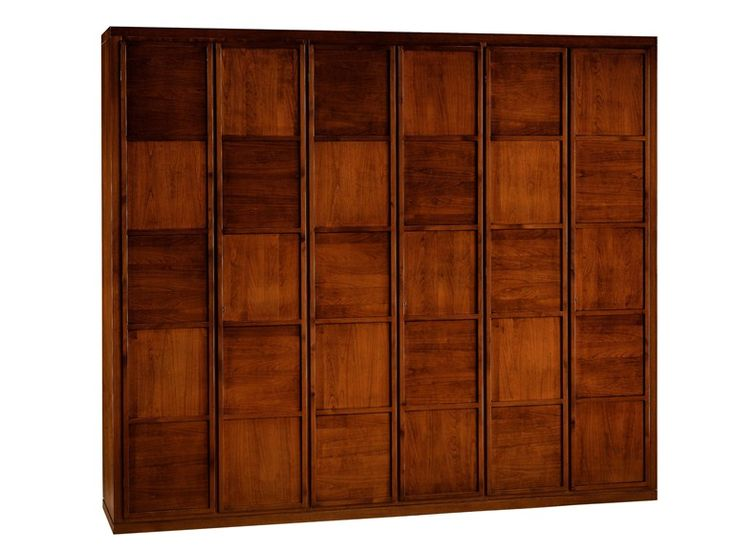 Download the catalogue and request prices of wooden wardrobe Armadio '900 scacchi, design Centro Ricerche MAAM, '900 collection to manufacturer Morelato