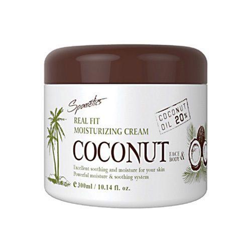 Spometics Real Fit Moisturizing Coconut Cream300ml #Spometics