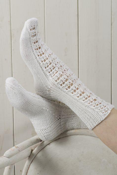 Pitsineulesukat Novita Nalle | Novita knits