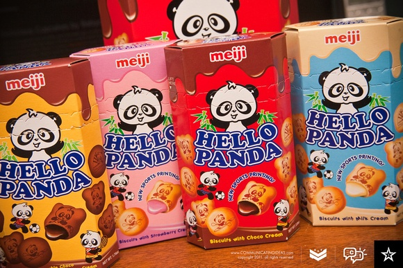 Hello panda ♥ I lovvvvve love love these snacks :) Dollar section at Target!
