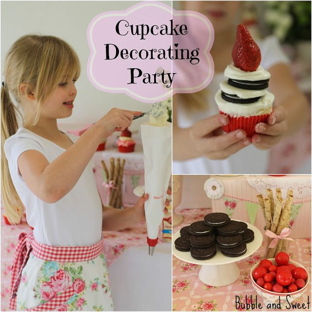 cupcake decorating party 2