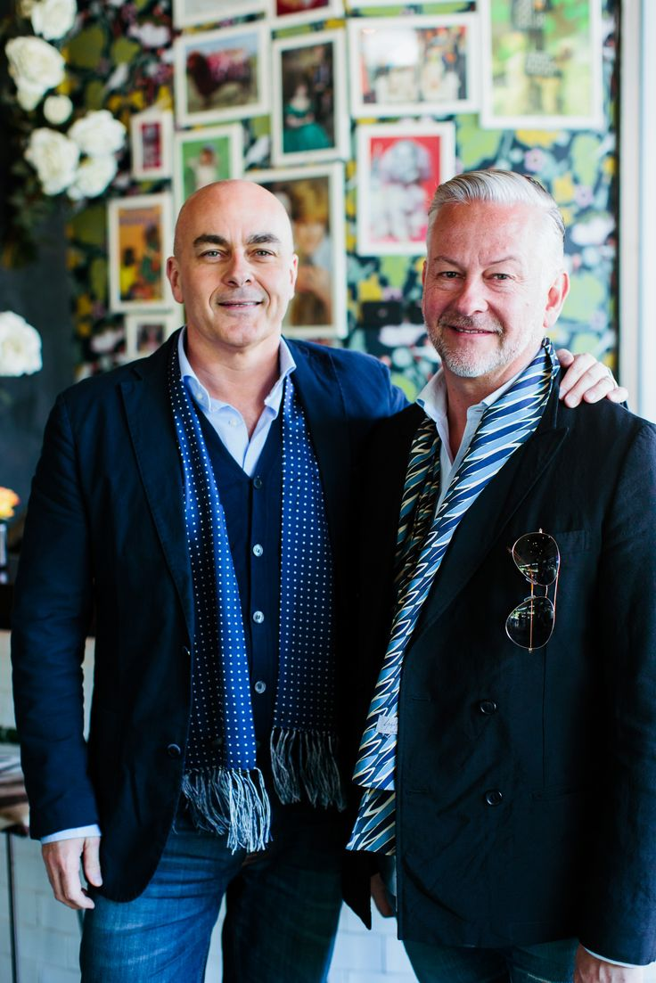 Neale Whitaker and David Novak-piper from Belle Magazine
