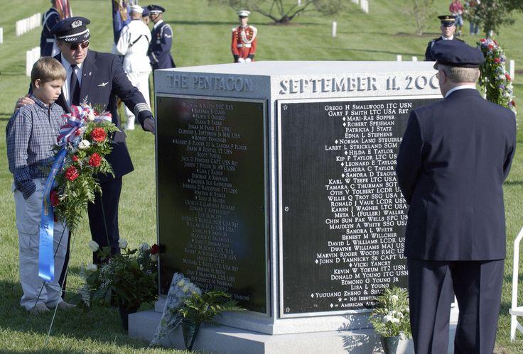 Pentagon September 11 Memorial Arlington National Cemetery.