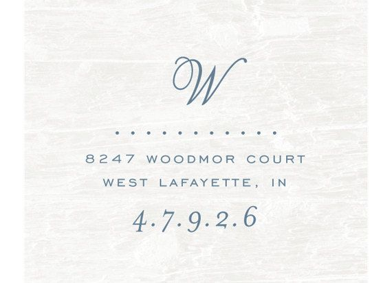 Custom Address Stamp, Wood handled Rubber Stamp, Calligraphy Stamp, Personalized Gift, Custom Address Rubber Stamp, Initial, Monogram. $25.00, via Etsy.: Initial, Monogram, Housewarming Gift, Custom Address, Personalized Gift, Christmas Card, Address Stamps