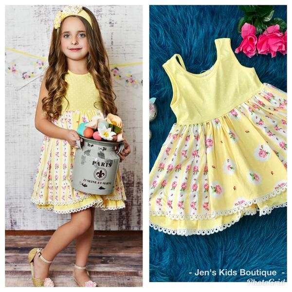 2019 Swoon Baby Spring Buttercup Easter Dress Mommy Outfits Easter Dress Haute Baby