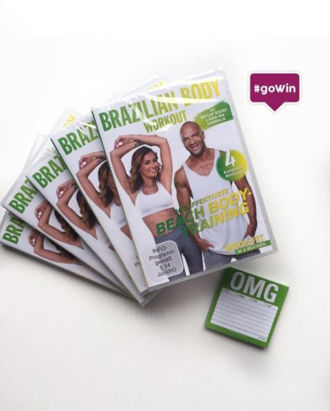 GEWINNSPIEL: Wer hat Lust auf ein Brazilian Body Workout mit Detlef D Soost und Jana Ina Zarrella! Einfach @gofeminin_de auf Instagram folgen und kommentieren mit 👙