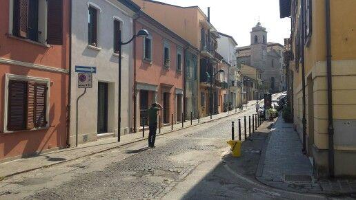 Antica via Flaminia(ora via Pascoli)