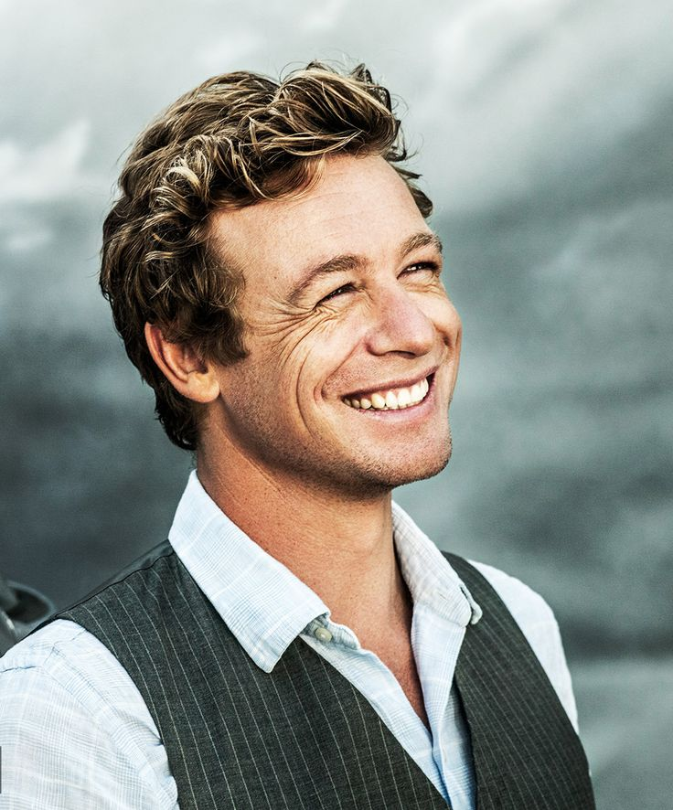 Best smile - Simon Baker // Patrick Jane