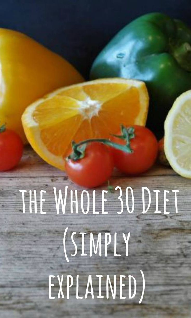 What Is The Whole 30 Diet? A simple explanation of the Whole 30 erting programme #whole30