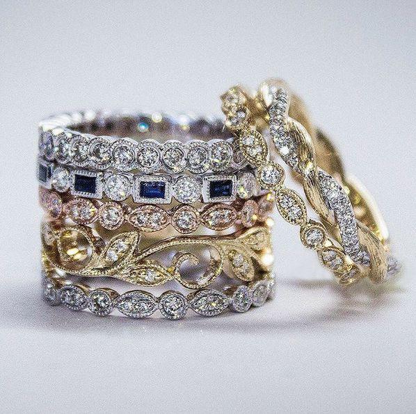 Gabriel & Co engagement ring settings