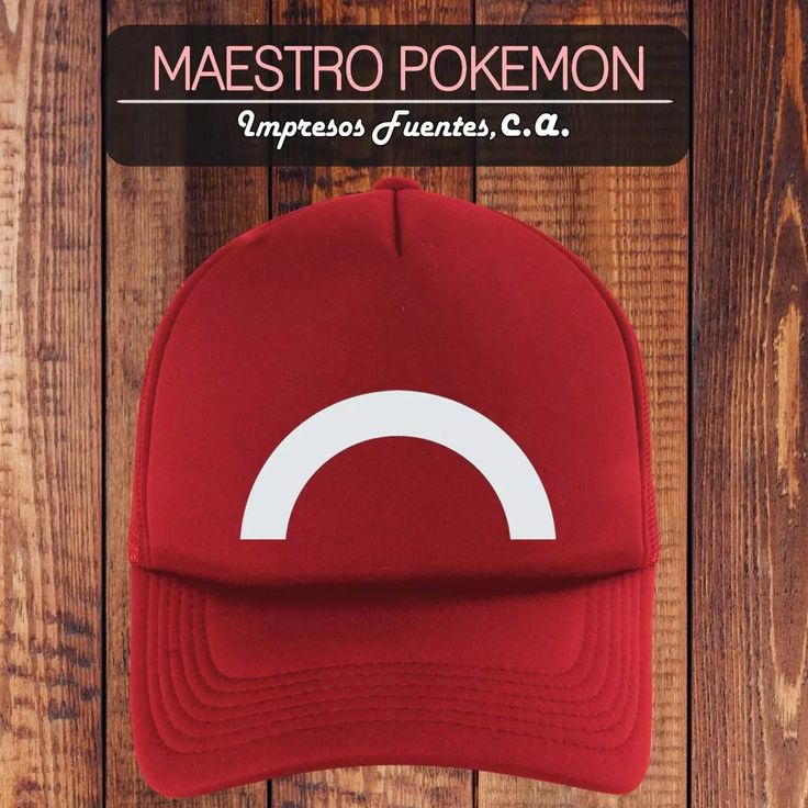 Gorras Pokemon Maestro Pokemon - Bs. 20.000,00 en Mercado Libre